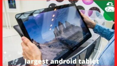 Photo of What is the maximum size for a tablet?