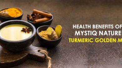Photo of HEALTH BENEFITS OF MYSTIQ NATURE TURMERIC GOLDEN MIX