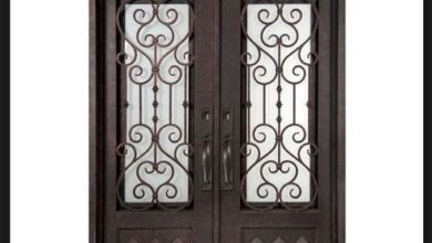 Photo of Ways to Make Your House Look Like  A Castle With Wrought Iron Doors!