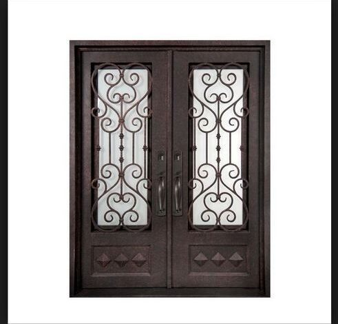 Wrought iron Castle Doors
