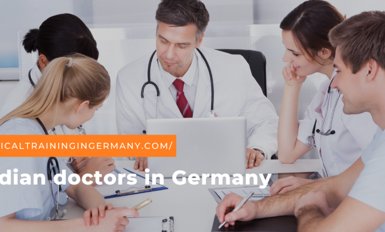 Indian doctors in Germany