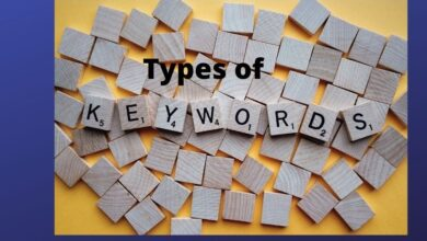Photo of 5 Types of the Keywords in SEO for Good Ranking