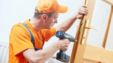 Photo of Door Hinges Fixing