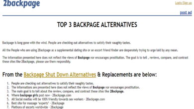 Photo of Alternative to Backpage
