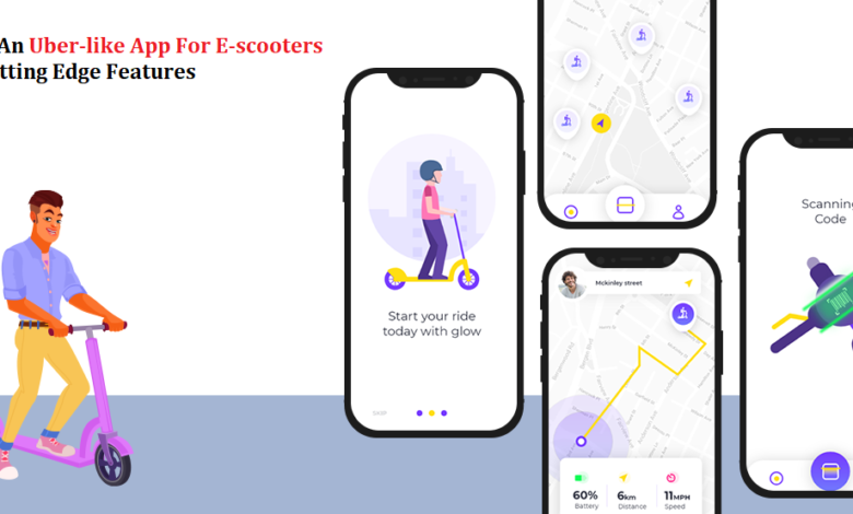 Uber-like App For E-scooters