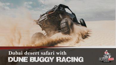 Photo of Dubai desert safari with dune buggy racing