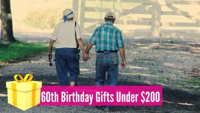 Photo of Meaningful 60th Birthday Gifts Under $200