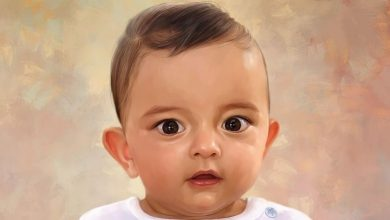 Photo of Baby oil painting – The best gift for a new mom that she'll cherish Forever