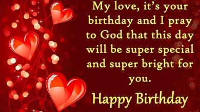 Photo of Birthday Wishes for Lover – Messages and Quotes