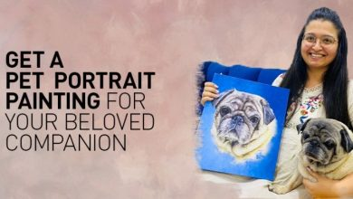 Photo of Get a Pet Portrait Painting for Your Beloved Companion