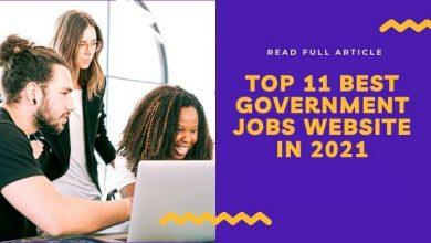 Photo of Top 11 Best Government Jobs website in 2021