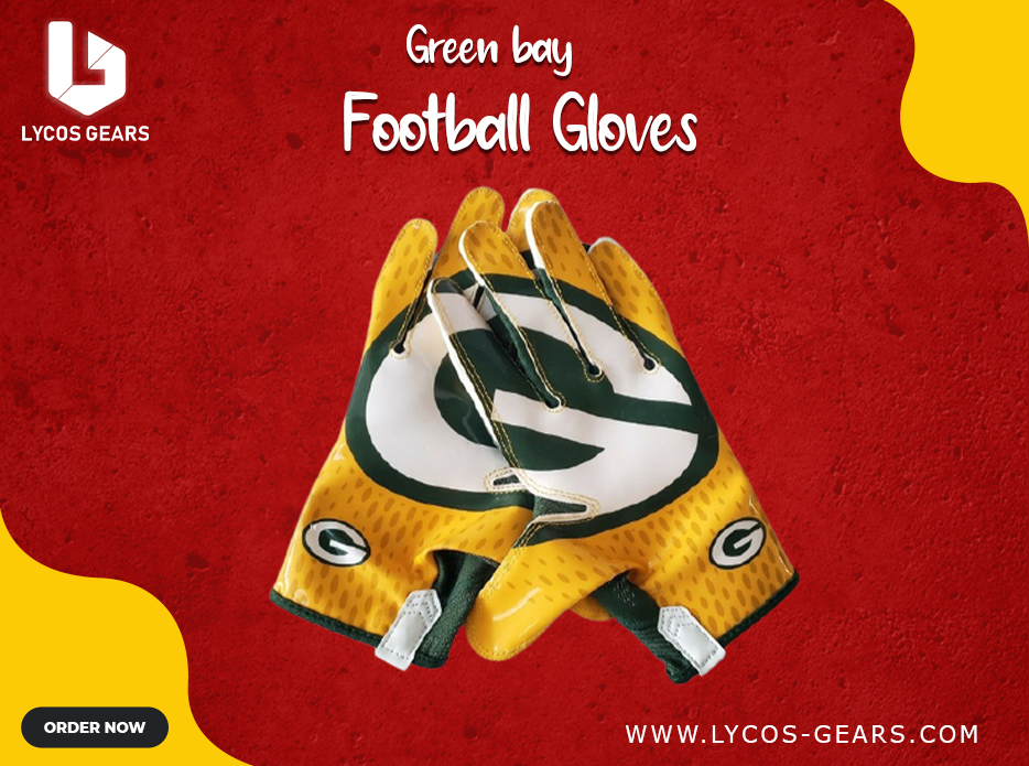 Green Bay Packers Football Gloves