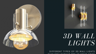 Photo of Different Types of 3D Wall Lights That You Should Try At Your Home