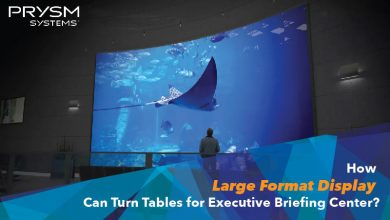 Photo of How Large Format Display Can Turn Tables for Executive Briefing Center