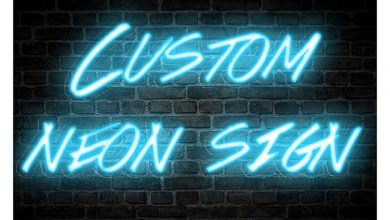 Photo of Personalized and Customized Led Neon Light Signs for Wall